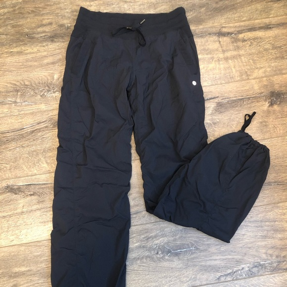 Lululemon lined, studio pants